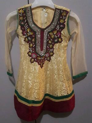 Girls asian party dress