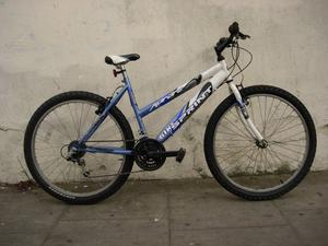 Ladies Mountain/ Commuter Bike by Sprint, Blue and White, Rides Nice,, JUST SERVICED / CHEAP PRICE!