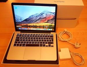 """MacBook Pro 13"""" i5 2.7ghz,256GB SSD HDD,8GB Ram,Wifi,Bluetooth,macOS High Sierra"""