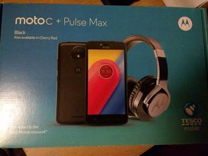 Moto c pulsemax ear wired headphones