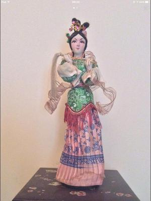 Paper - Mache Japanese vintage doll in excellent condition, collectors item