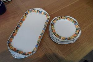 Sandwich plate and 6 x side plates