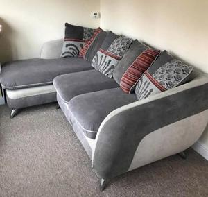 Sofa (L- shape) with chaise