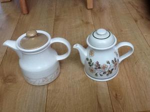 Two Teapots for Sale Biltons & M&S Autumn Leaves