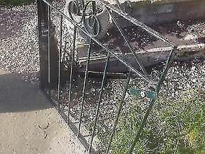 WROUGHT IRON GARDEN GATE ** 85cm x 85cm ** clacton on sea - CO15 6AJ