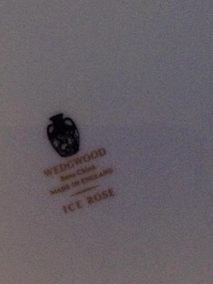 's Bone China ICE ROSE DINNER SERVICE, WEDGEWOOD.