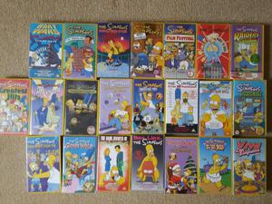 22 Simpsons VHS videos