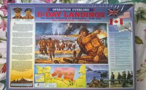 D-DAY LANDINGS  PIECE JIGSAW PUZZLE IN ORIGINAL PACKAGING