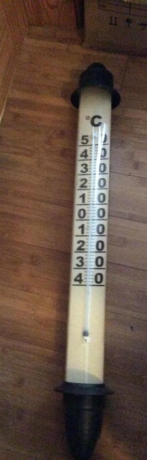 Designer large indoor /outdoor temperature guage