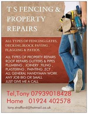 FENCING, T S FENCING & PROPERTY REPAIRS
