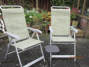 HIGH BACK CHAIRS WITH LAFUMA DETACHABLE HEADRESTS