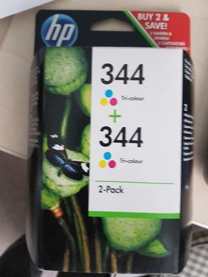 HP 344 Tri-colour 2-Pack genuine HP ink cartridges