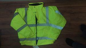 High Visibility Jacket -- (Hi Vis) -- Size XL -- Brand New with Tags