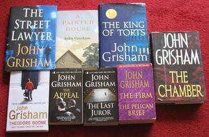 John Grisham books - total 16 - all in good condition