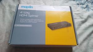 MAPLIN 4 WAY HDMI SPLITTER