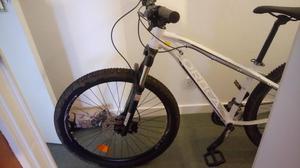 Orbea mxB hardtail mountain bike, upgraded forks/tyres