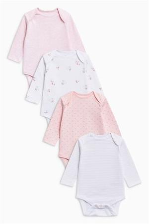 Pack of 4 Next Baby Vests