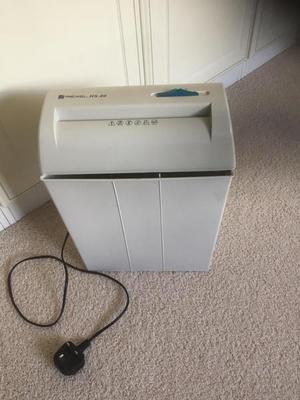 Rexel 80 HS paper shredder.