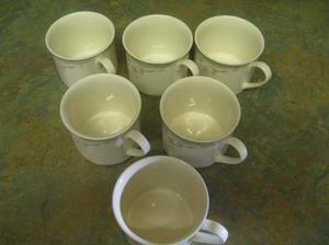 Royal Doulton: Caprice 12 piece Bone China Tea Service.