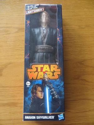 "Star Wars Anakin Skywalker 12"" Action Figure with Blue"