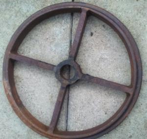 cast iron wheels vinta for garden design for spring gardens