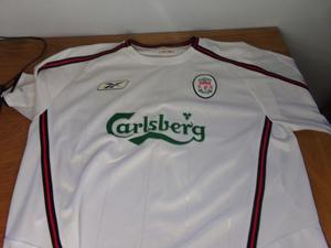 liverpool football shirt