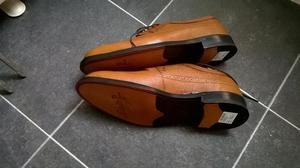 men's Clarkes brown brogues size 11,lthr,brand new Boxed,