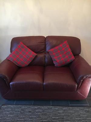 2x2 leather two setter settees