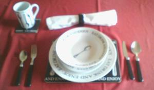 96 PIECE DINNER SERVICE