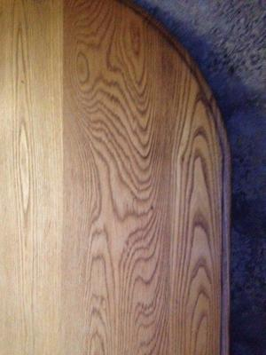 Antique 8-seater oak dining room table