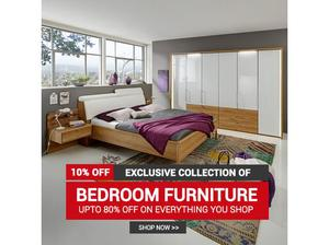 BEDROOM FURNITURE !! UP TO 80% + FLAT 10% OFF ON BOXING DAY