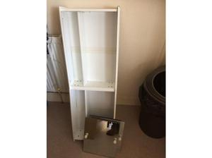 Bathroom cabinet with mirrored doors in Bournemouth