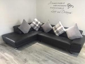 Brand New Leather Corner Sofa