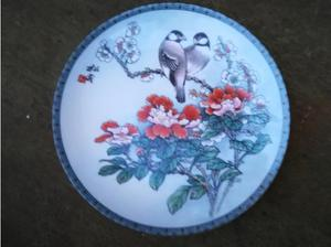 Chinese Decorative Plate 8 Inches Diameter in Havant