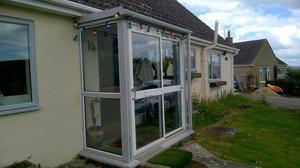 Double glazed composite door posot class for Double glazed porches