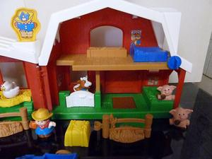 FISHER PRICE LITTLE PEOPLE FARM WITH SOUNDS