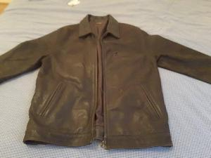 Great condition like new leather jacket