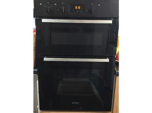 Indesit built in double oven electric in Braintree