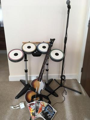 Limited Edition Rockband for Wii