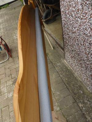 Pine Headboard