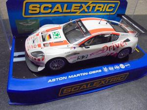 "Scalextric C Aston Martin DBR9 ""Young Driver"" #52 with"