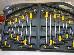 T-Handle Hex & Torx Key Set in Durham