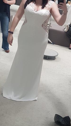 Wed2b Peta dress. Never worn, size 16.
