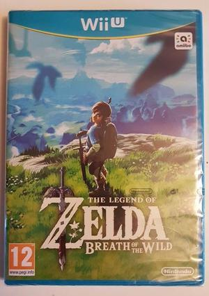 Wii U 'The Legend Of Zelda Breath Of The Wild' Brand New!