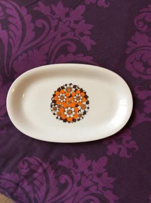 s 70s serving plate