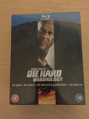 Die Hard Quadrilogy + DH 5 (Blu-Ray) Brand New