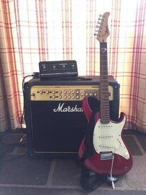Guitar, Amp and Foot Controller