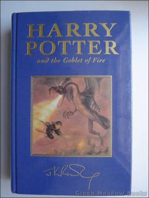 Harry Potter and the Goblet of Fire Deluxe 1st Edition -