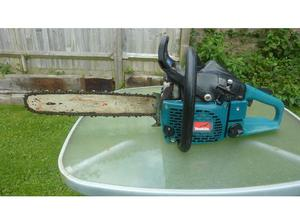 Makita large petrol chainsaw cost £400 in Lewes