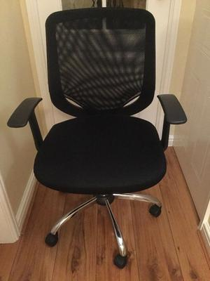 Office Chair, Mesh Back, Black